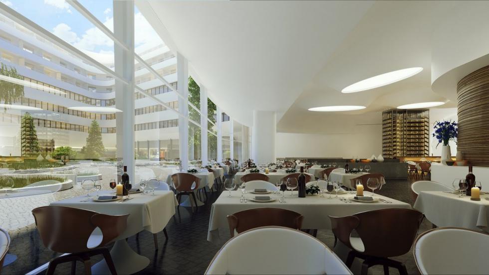 Hilton Wrocław zajmie 5 kondygnacji kompleksu OVO Wrocław
