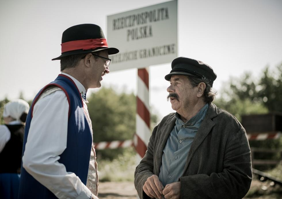 """Janusz Gajos jako """"król Kaszubów"""" - zobacz"""