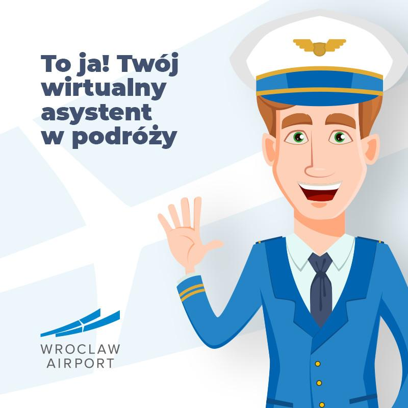 """Już działa chatbot """"Port Lotniczy Wrocław"""""""