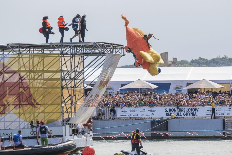 Załoga zDolnego Śląska walczy ostart wRed Bull Konkurs Lotów